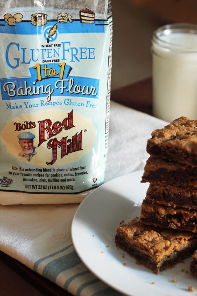 gluten free chocolate chip cookie bars (2)