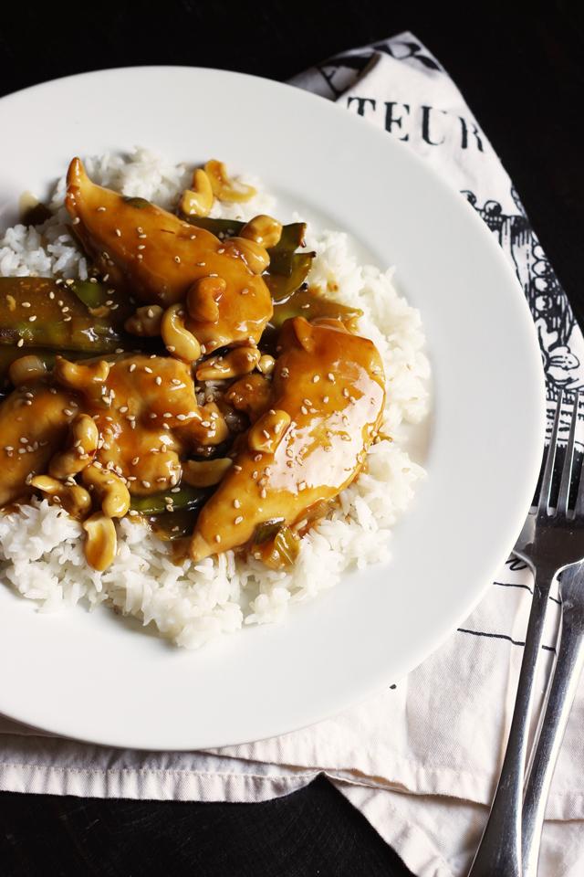 Hands-free Cashew Chicken | Good Cheap Eats