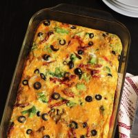 Sausage Vegetable Frittata