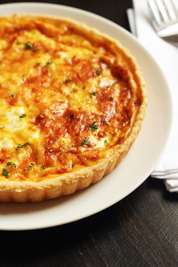 ham and cheese quiche without pie crust. Black Bedroom Furniture Sets. Home Design Ideas