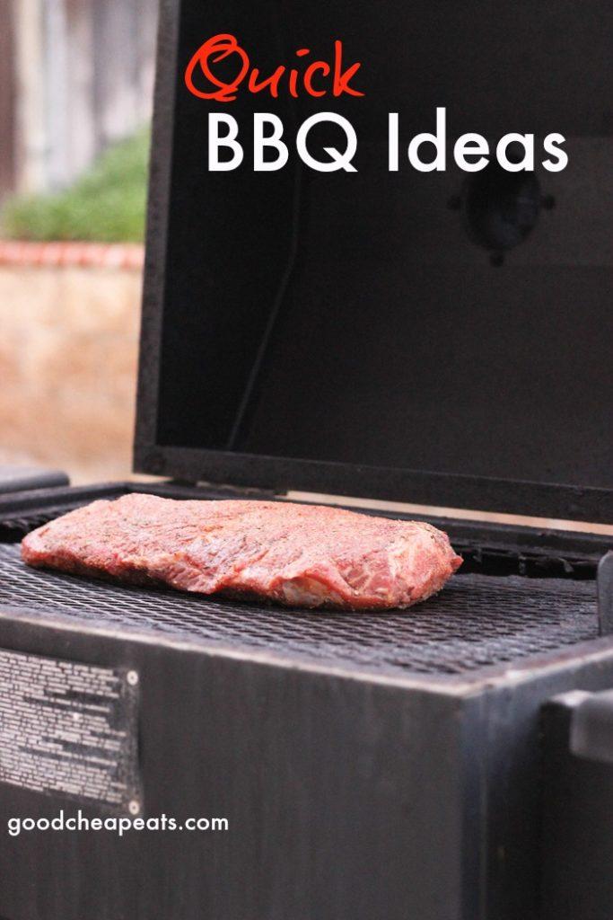 Quick BBQ Ideas   Good Cheap Eats