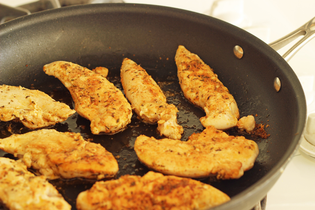 How to cook frozen chicken breast in skillet