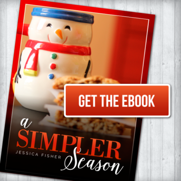 advertisement for A Simpler Season ebook