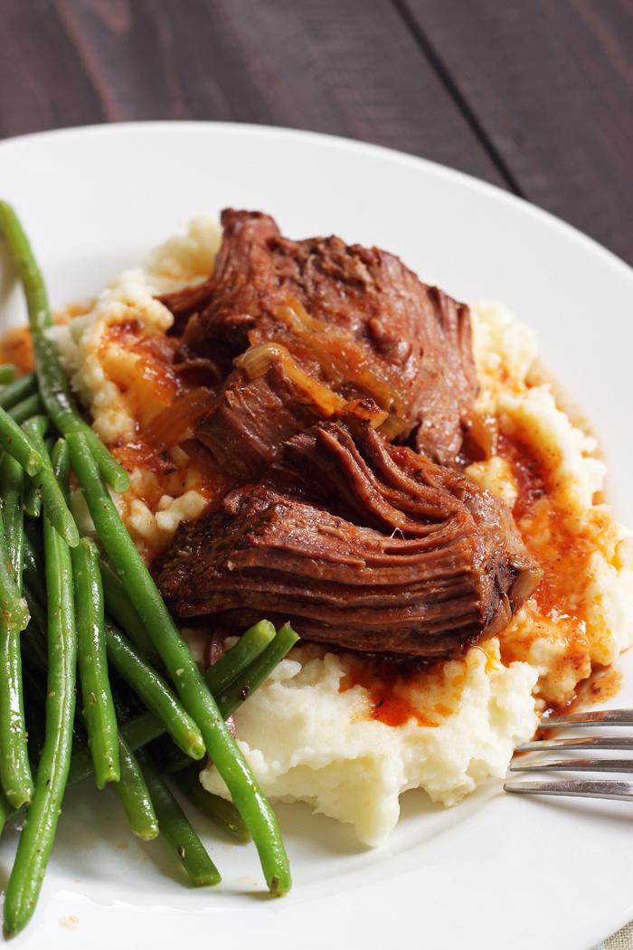 Favorite Slow Cooker Pot Roast | Good Cheap Eats