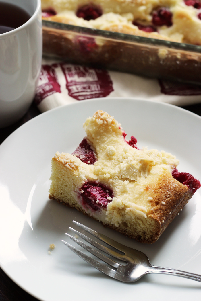 Raspberry Cream Cheese Coffeecake | Good Cheap Eats