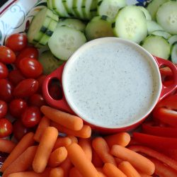 Buttermilk Dressing with Dill