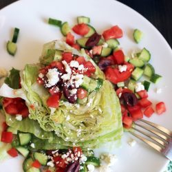Greek Wedge Salad | Good Cheap Eats