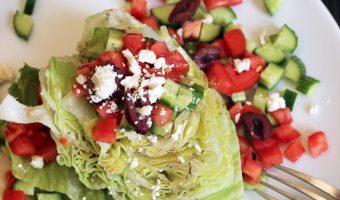Greek Wedge Salad | Good Cheap Eats