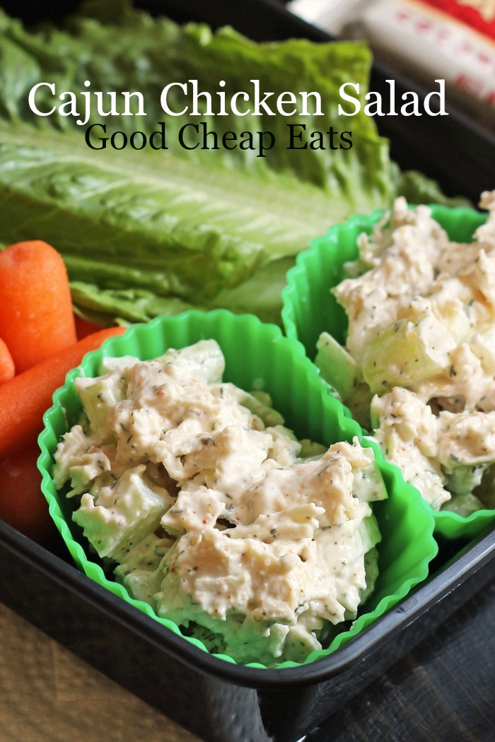 Cajun Chicken Salad Good Cheap Eats