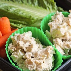 Chicken Salad Cups Packed Lunch