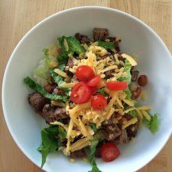 carne asada bowls