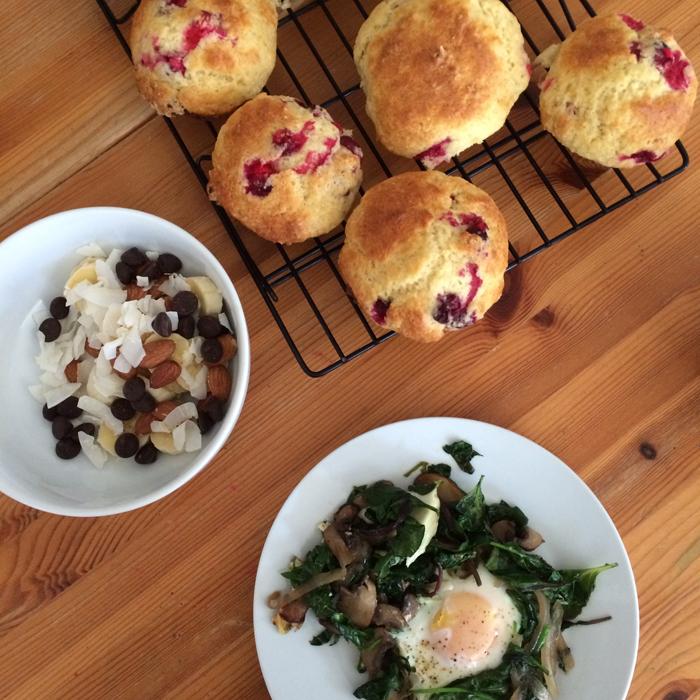 muffins breakfast