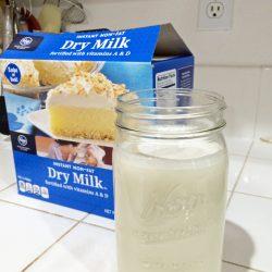 pantry challenge dry milk