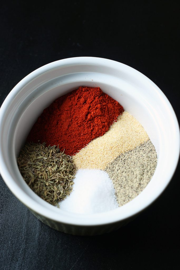 spices arranged in dish