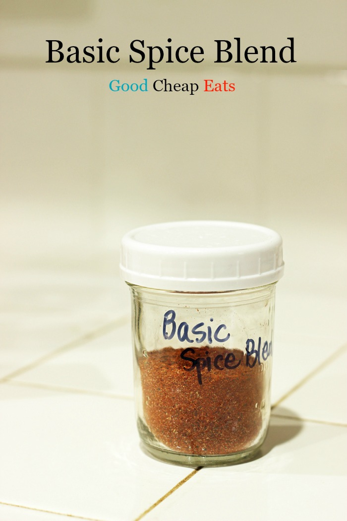 Basic Spice Blend | Good Cheap Eats