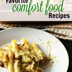 What kind of meal does a winter call for? Comfort food! These recipes top my list of food that is quick, easy, and super duper comforting.