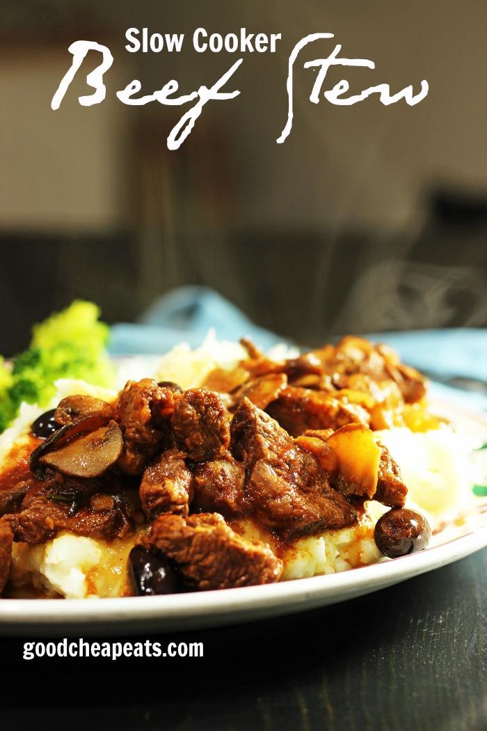 Slow Cooker Beef Stew | Good Cheap Eats