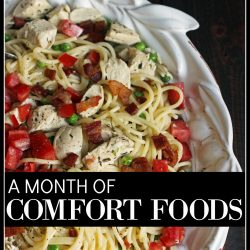 A Month of Comfort Foods COVER