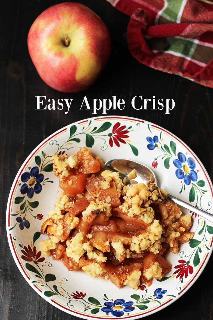 Easy Apple Crisp Good Cheap Eats PIN