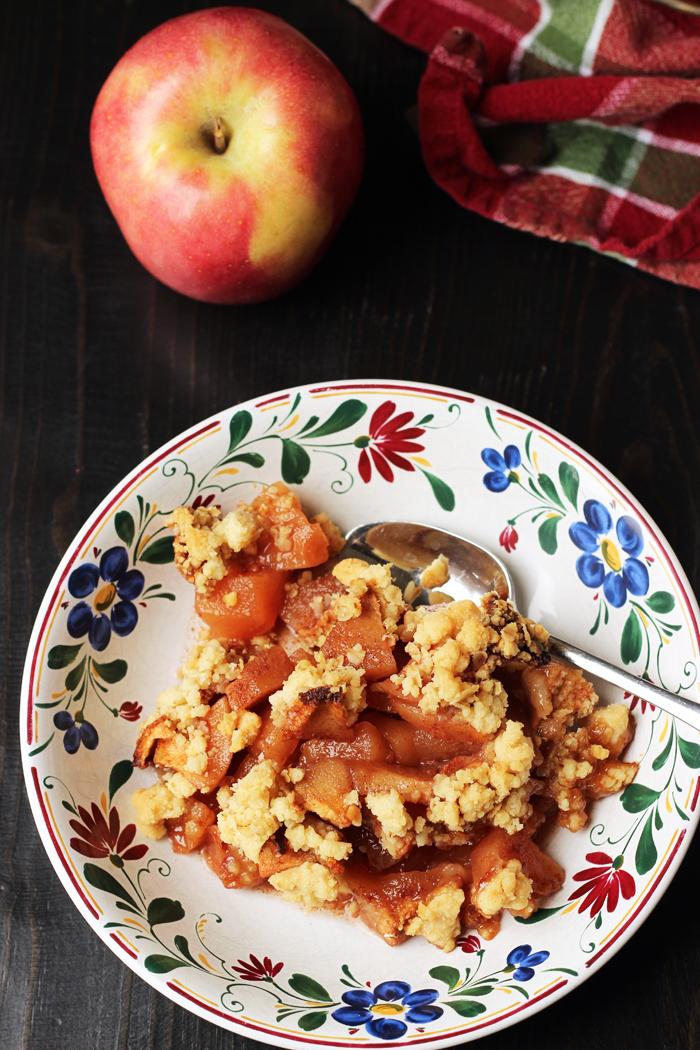 Easy Apple Crisp Good Cheap Eats