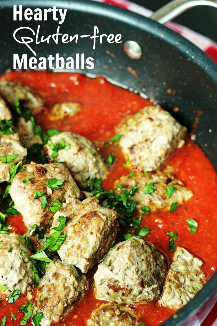 Hearty Gluten-free Meatballs | Good Cheap Eats