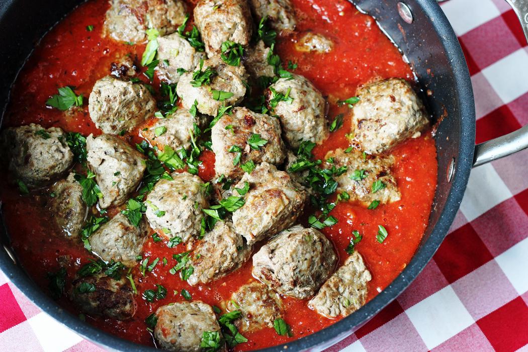 Hearty Gluten-Free Meatballs