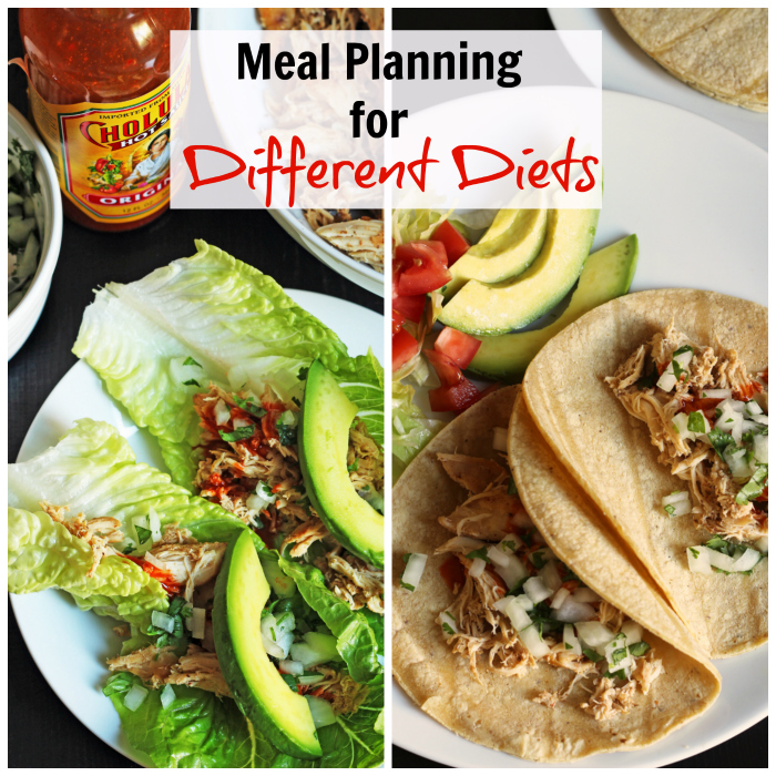 Meal Planning for Different Diets | Tips from Good Cheap Eats