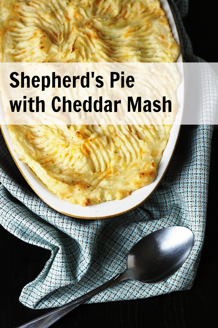 Shepherd's Pie with Cheddar Mash GCE PIN