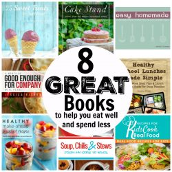8 Great Books to Help You Eat Well and Spend Less