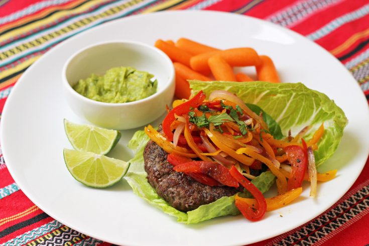 Fajita Burgers to Liven Up Your Burger Bar