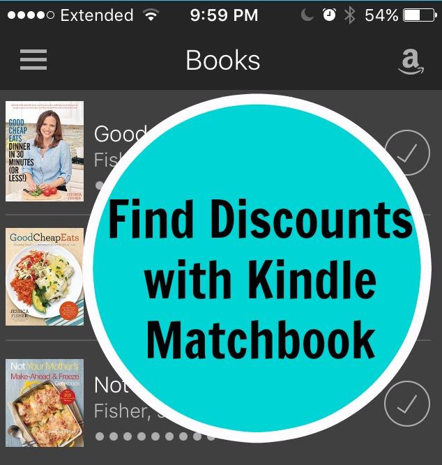 Kindle Cookbooks PIN