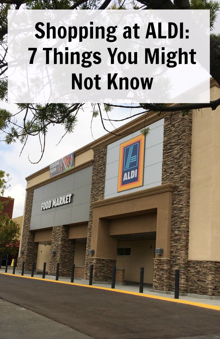 Shopping at ALDI: 7 Things You Might Not Know | Good Cheap Eats - Have you ever been grocery shopping at ALDI? Did you know this discount grocer is coming to California? Here are 7 things you might want to know.