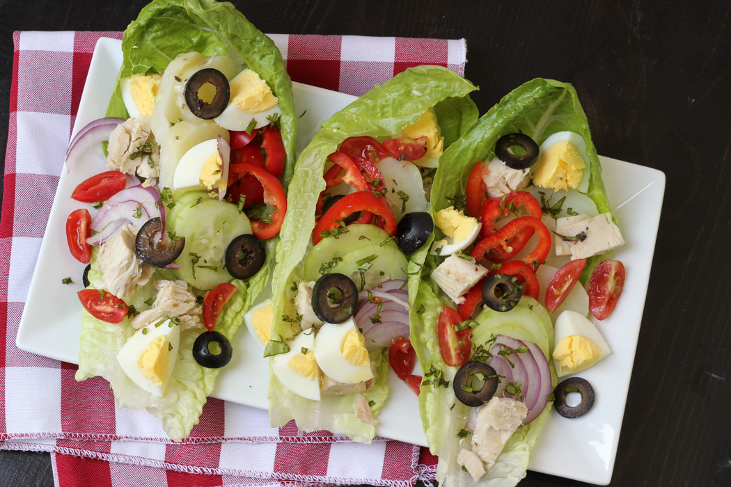 Nicoise Salad Wraps | Good Cheap Eats