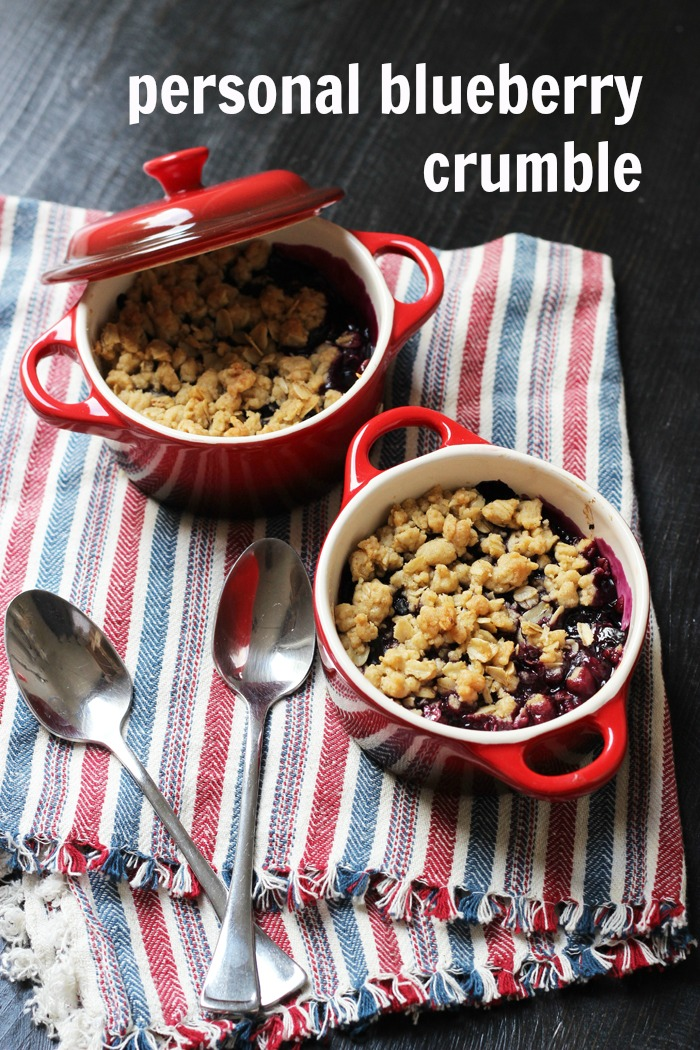 Blueberry Crumble | Good Cheap Eats