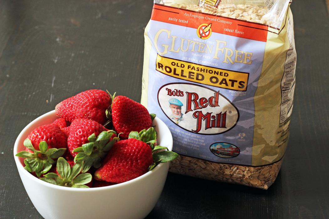 Strawberry Oatcakes Recipe from Good Cheap Eats