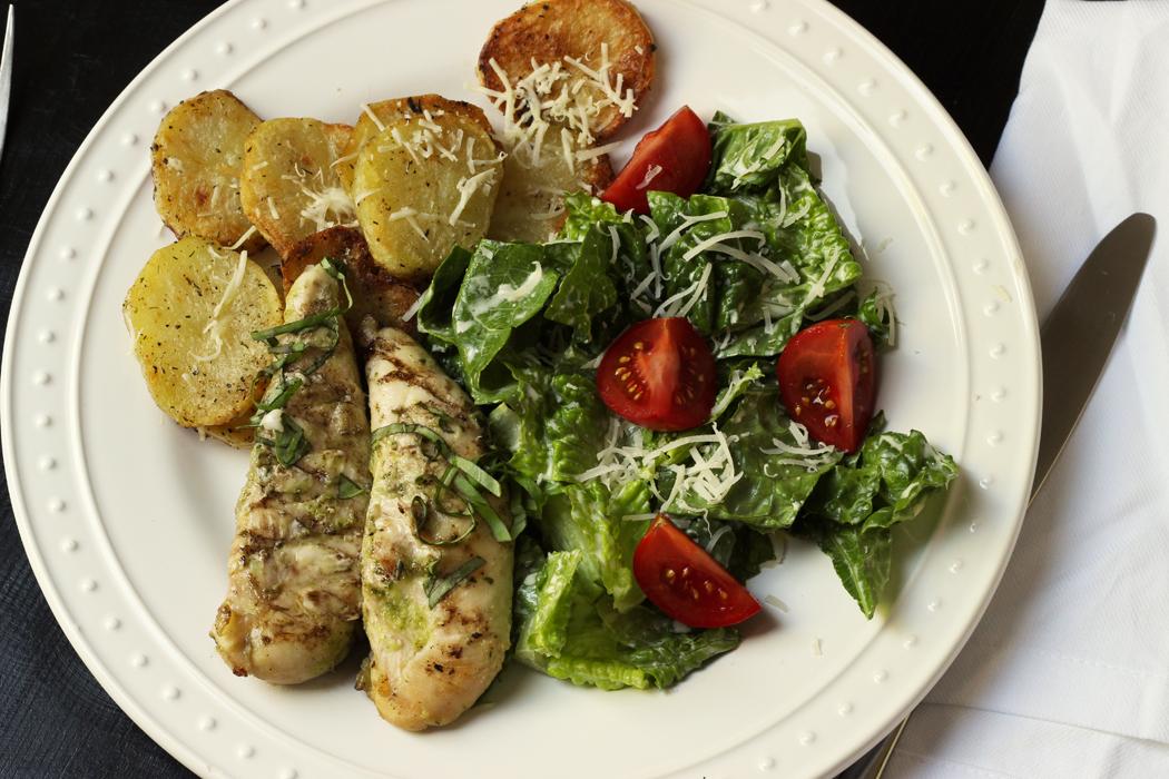 Grilled Dijon Basil Chicken   Good Cheap Eats