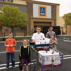 Grocery Shopping with Kids at ALDI