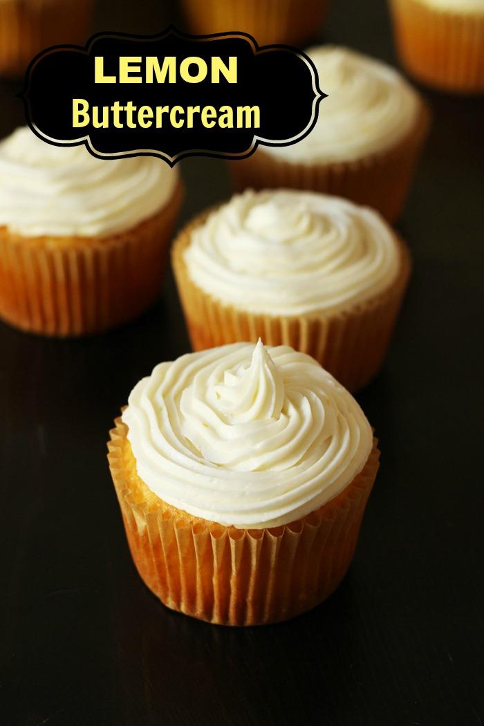 Lemon Buttercream Frosting | Good Cheap Eats