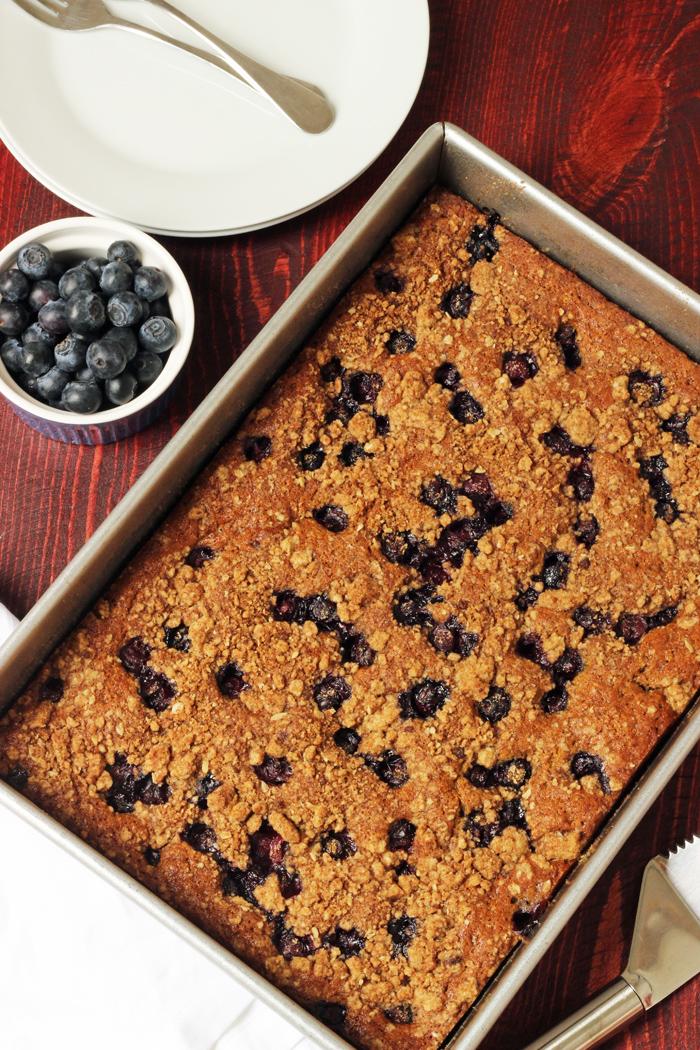 Spiced Blueberry Coffeecake GCE
