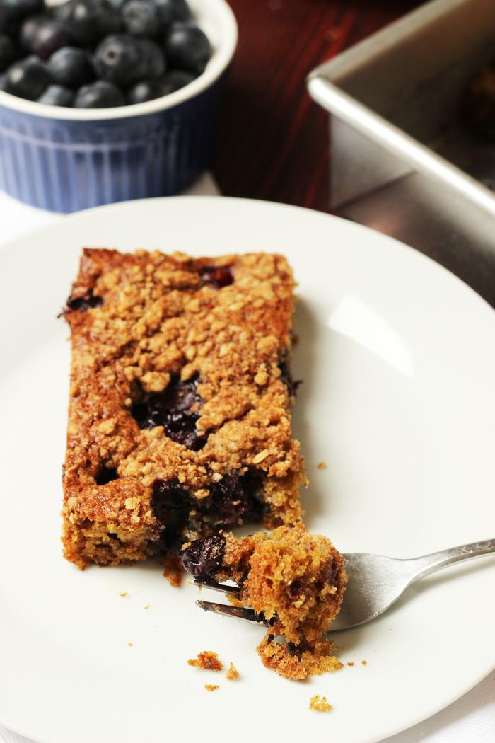 Spiced Blueberry Coffeecake Good Cheap Eats