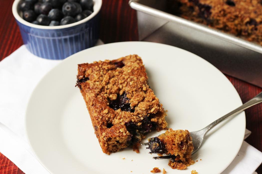 Spiced Blueberry Coffeecake | Good Cheap Eats