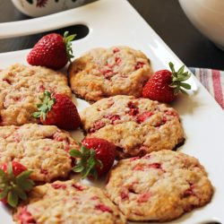 Strawberry Oatcakes