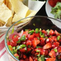 Try Strawberry Salsa for a Fun Summer Twist