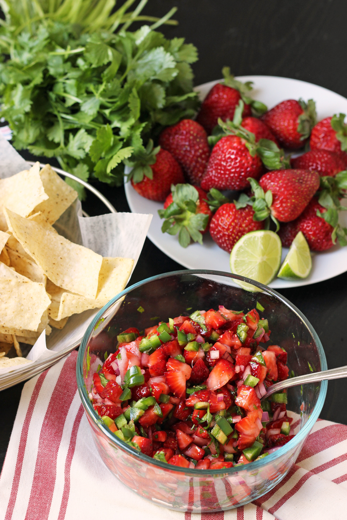Strawberry Salsa | Good Cheap Eats