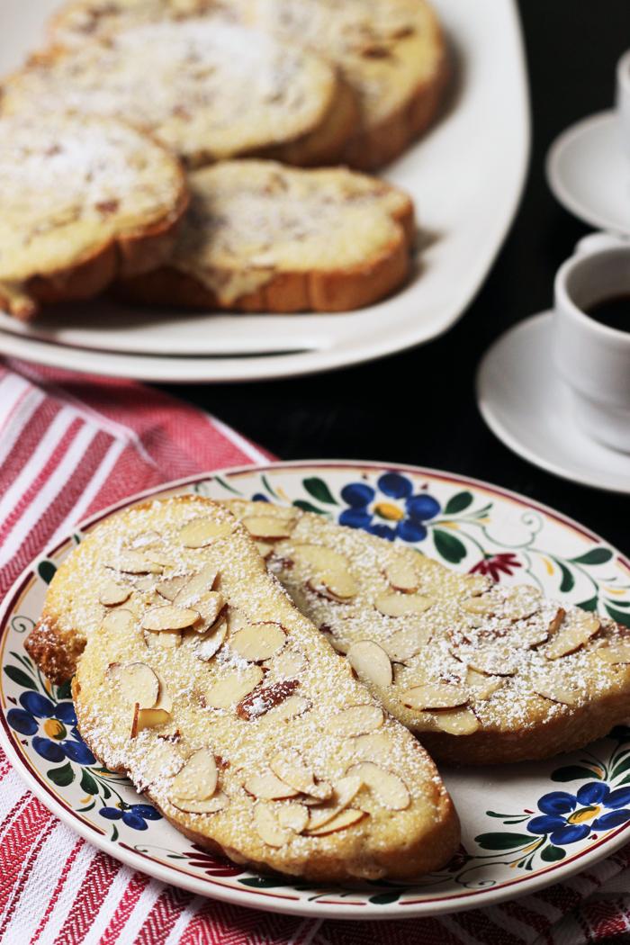 Sweet Almond Toasts Good Cheap Eats