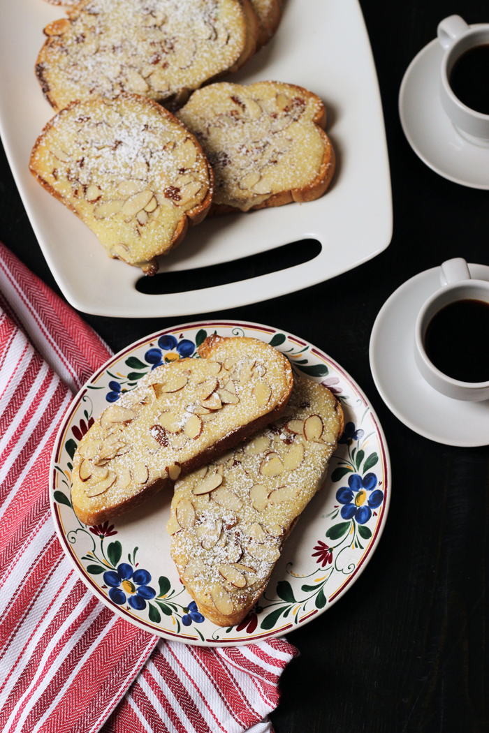 Sweet Almond Toasts Recipe from Good Cheap Eats