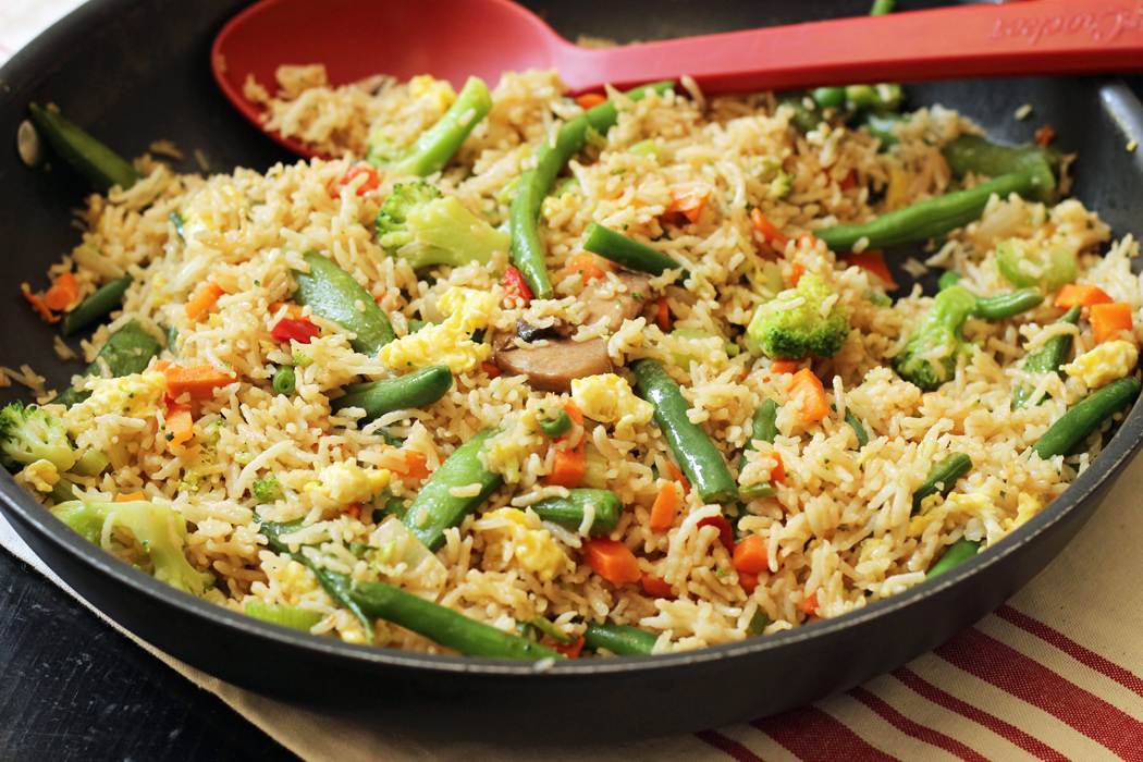 Vegetable Fried Rice | Good Cheap Eats