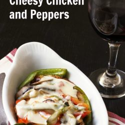 Cheesy Chicken and Peppers