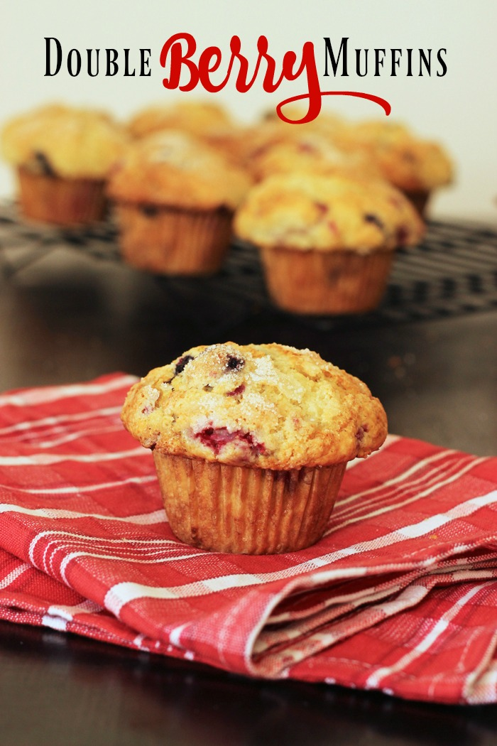 Double Berry Muffins with Ricotta Cheese   Good Cheap Eats