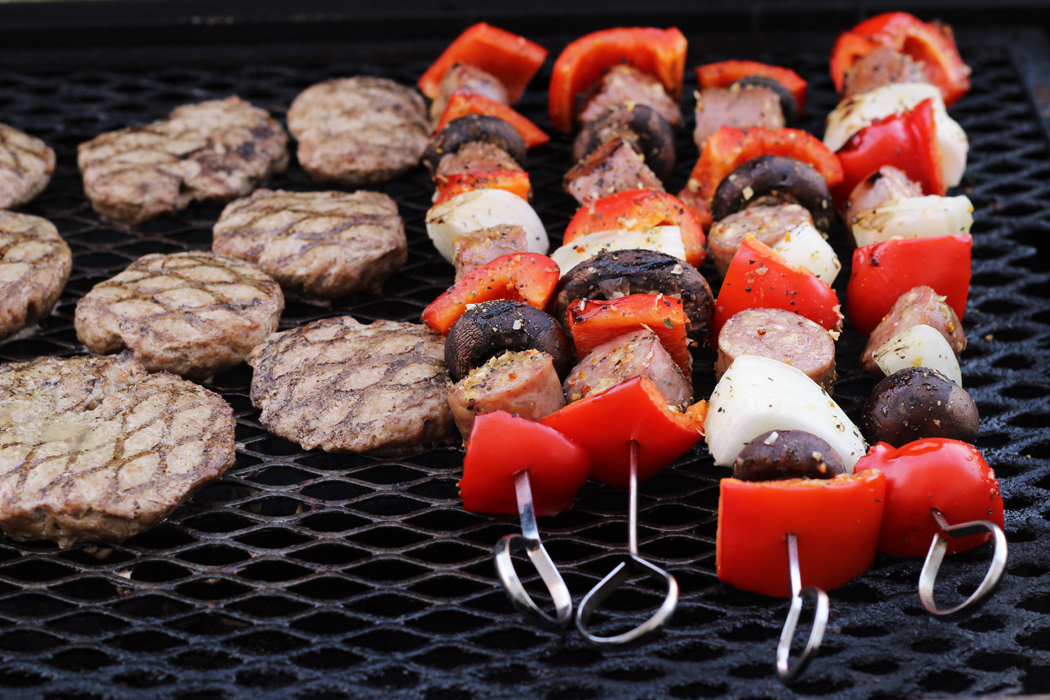 Sausage Kabobs with Peppers & Onions | Good Cheap Eats